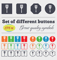 Kitchen appliances icon sign Big set of colorful vector image vector image