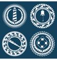 Nautical Symbols 2 vector image vector image