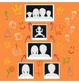 picture of family life vector image vector image