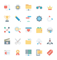 SEO and Marketing Colored Icons 4 vector image vector image