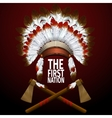 The First Nation vector image