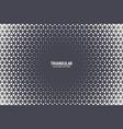 triangular halftone texture geometric technology vector image vector image