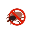 Warning sign with tick icon isometric 3d style vector image vector image