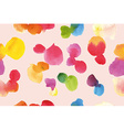 Watercolor pattern abstraction vector image vector image