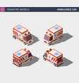 ambulance car or emergency medical service vector image