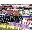 business headlines vector image vector image