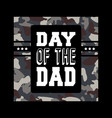 day dad tee print for badge applique vector image vector image