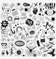 drugs hand drawn doodle set vector image vector image