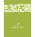 Green underwater seaweed vertical torn seamless vector image vector image