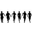 Set athletics woman runners