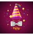 Party Card or Placard vector image