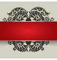 7floral line 27 3 vector image vector image