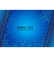 Bright blue abstract background with copy space