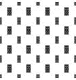 Front door pattern simple style vector image vector image