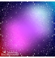Futuristic technology background molecule and vector image vector image