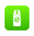 mosquito spray icon green vector image