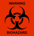 radioactive sign vector image vector image