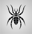 Tribal Spider vector image vector image