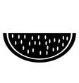 Watermelon icon vector image