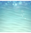 waves on the water vector image vector image