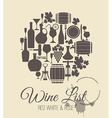 wine vector image