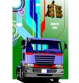 al 0549 truck 02 vector image vector image