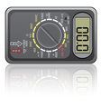 digital multimeter vector image vector image