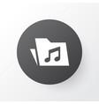 folder icon symbol premium quality isolated vector image vector image