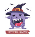 of halloween and helloween con vector image