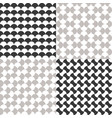 simple seamless moroccan pattern vector image vector image