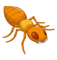 Termite cartoon for you design vector image vector image
