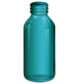 A medical bottle vector image vector image