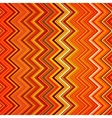 Abstract red orange white and black zig-zag vector image vector image