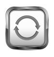 button refresh vector image