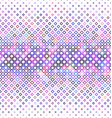 Colorful abstract square pattern background vector image vector image