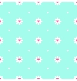 flat minimalistic camomile seamless pattern vector image