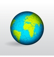 Globe of Earth vector image