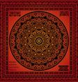 mandala hindu symbol vector image