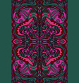 surreal mystical pattern burgundy raspberry blue vector image vector image