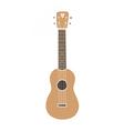 Ukulele hawaiian guitar Isolated on white vector image vector image