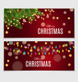 abstract beauty christmas and new year card vector image vector image
