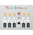 idea leadership business concept vector image vector image