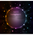 stylized abstract background w vector image vector image