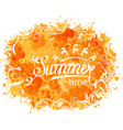 summer background of holidays design and vector image vector image