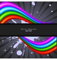 abstract rainbow spectrum background vector image