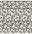 abstract black geometric tiles pattern vector image