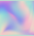 abstract blurred holographic gradient background vector image vector image