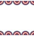 border american flag vector image vector image