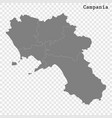 high quality map is a state italy vector image vector image