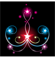 magical fireworks vector image